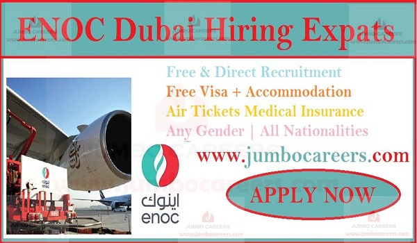 ENOC Dubai Job Vacancies 2020 - Emirates National Oil Company UAE