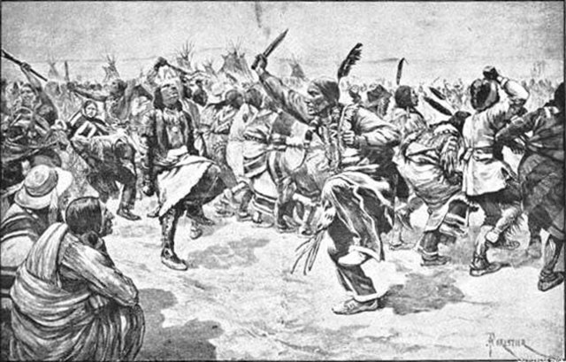 the details of the infamous massacre at wounded knee