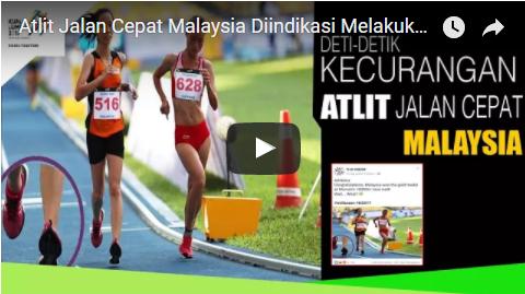 Kumpulan VIDIO kecurangan Atlit Malaysia di ajang Sea Games 2017