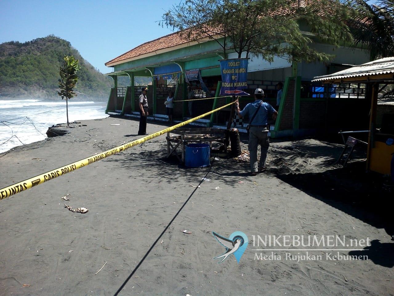Cegah Timbulnya Korban, Lokasi Abrasi Pantai Suwuk Dipasangi Garis Polisi