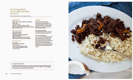 Recipe pages in 'Lost Recipes of Malaysia' (draft copy)