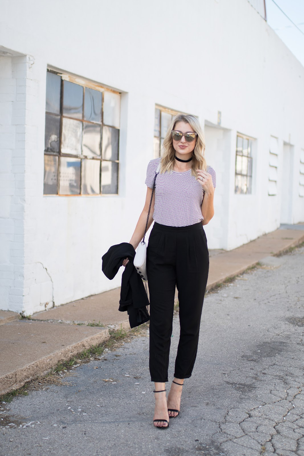 Comfortable yet chic work outfit