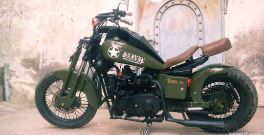 Rebel Customs Sainik