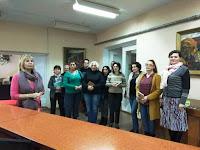 grupa IM2018 de la Cursul de perfecţionare la specialitatea Instruire muzicală in spaţiile Bibliotecii Ştiinţifice