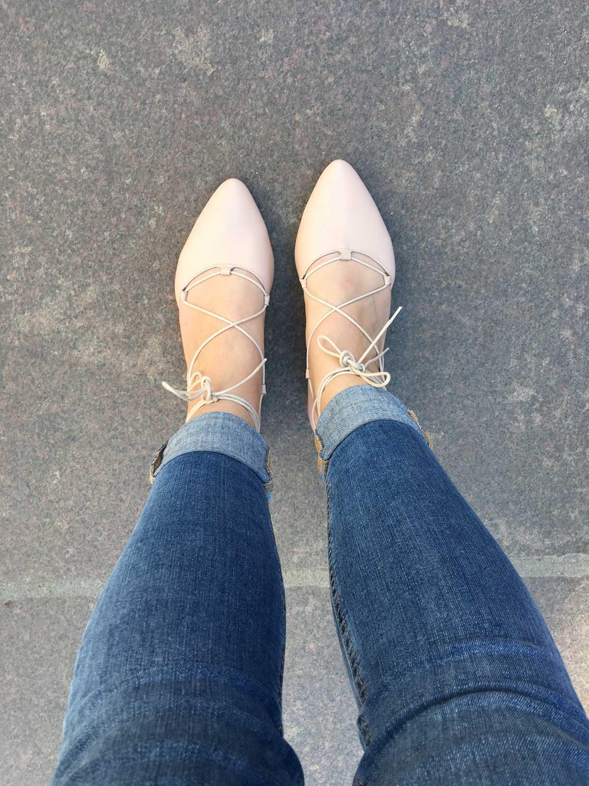 baleriny stopy