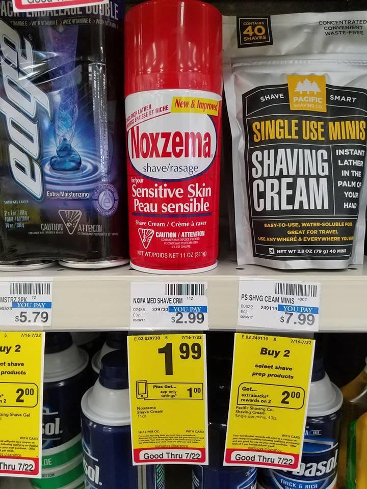 How To Use Noxzema >> CVS: Noxzema Shave Cream 99 Cents (Save $2!)