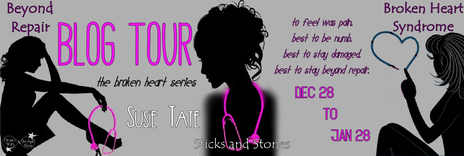 Blog Tour And Review The Broken Heart Series By Susie Tate