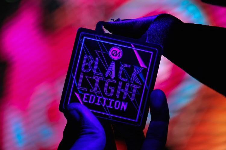 The Budget Fashion Seeker - Color Manila Blacklight Run
