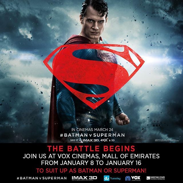 Batman V Superman Full Supes Character Poster Now In