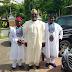 MPNAIJA GIST:Cute photo of Dino Melaye and his sons rocking Agbada