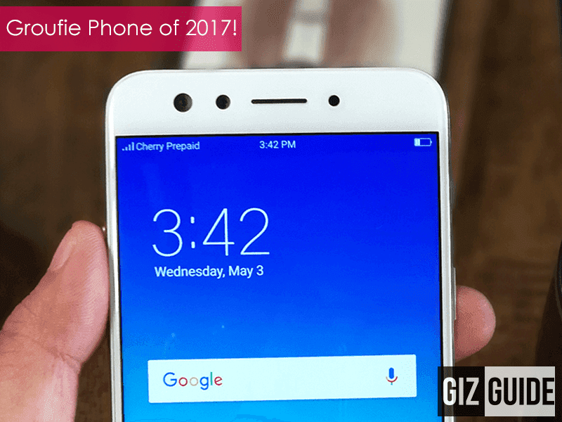 Editor's Choice: Groufie Smartphone of 2017 - OPPO F3
