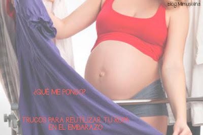 blog mimuselina trucos para ropa embarazada premamá