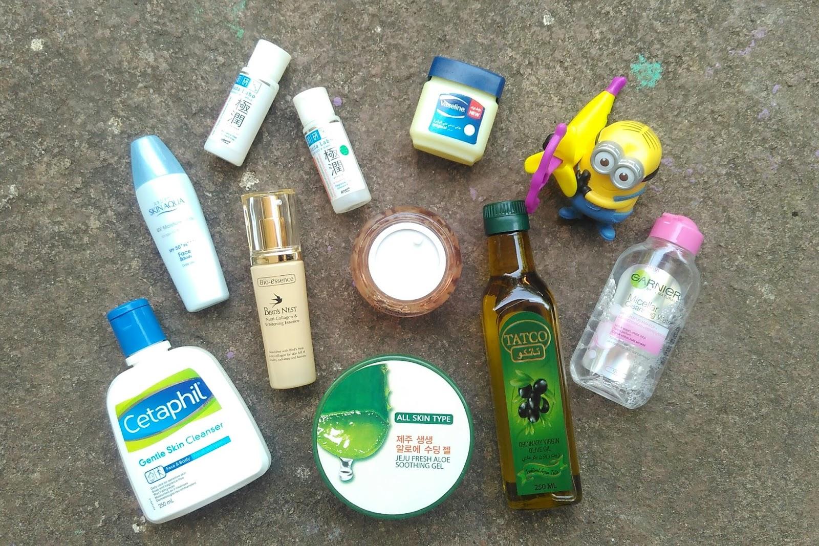 Uni Dzalika Morning Skincare Routine Untuk Kulit Kering