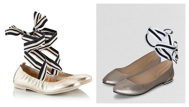 splurge vs steal ballet flats
