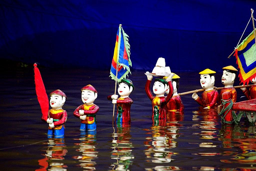 vietvanhoa.com: Nghệ thuật múa rối nước của người Việt