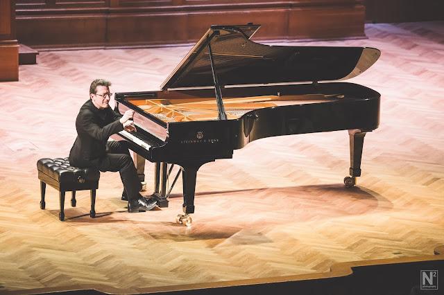 Llŷr Williams in recital in Moscow (Photo Nikolay Nersesov)