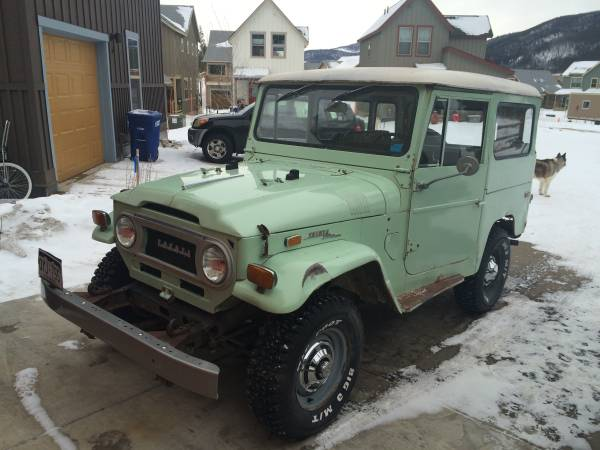 Original 1971 Toyota Land Cruiser FJ40