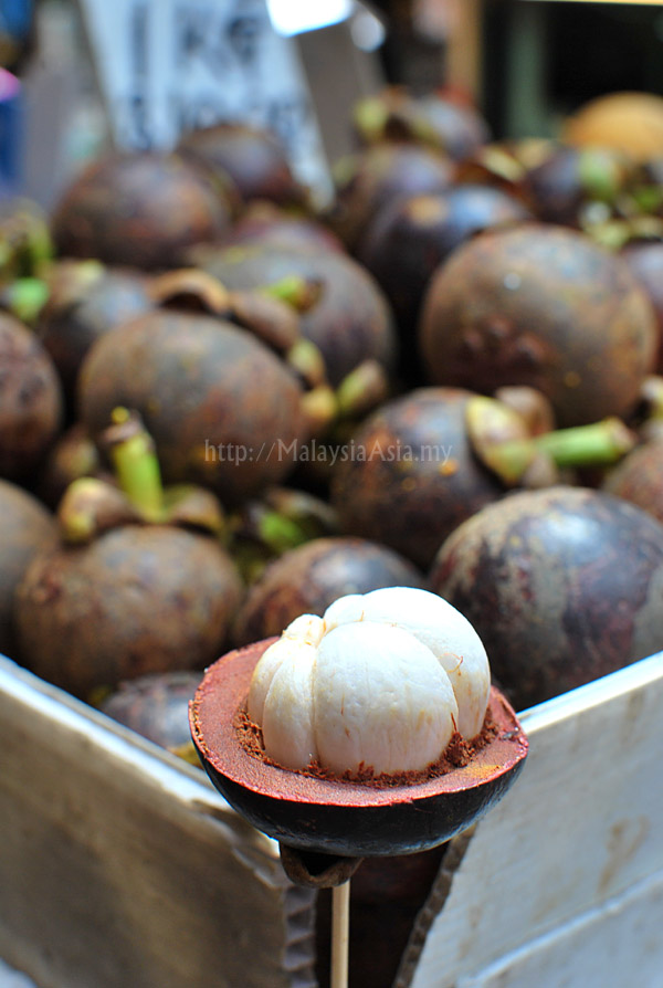 Mangosteen from Malaysia