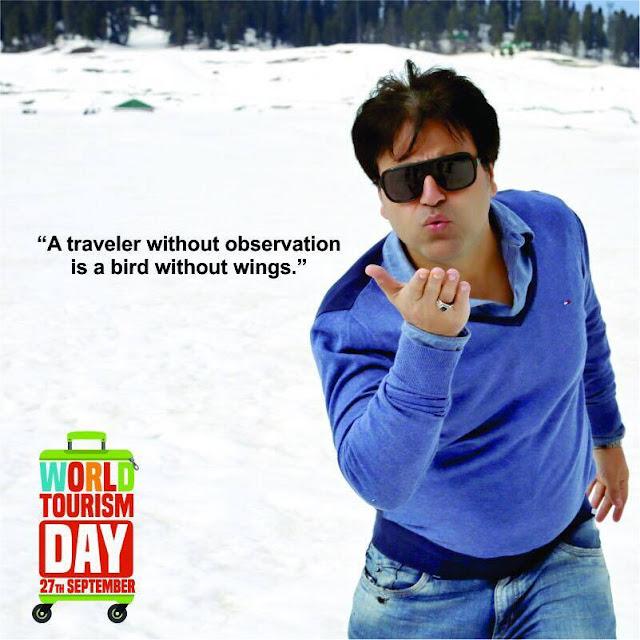 World Tourism Day - Sanjeev Juneja