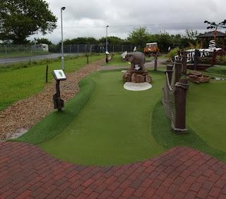 Congo Rapids Adventure Golf at Norwich Family Golf Centre