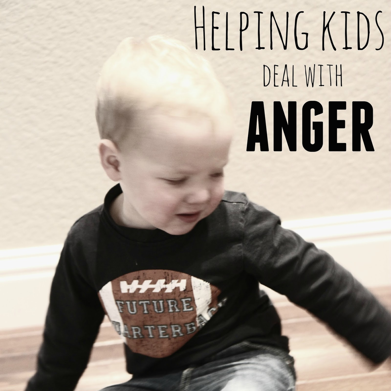 how to help child deal with anger