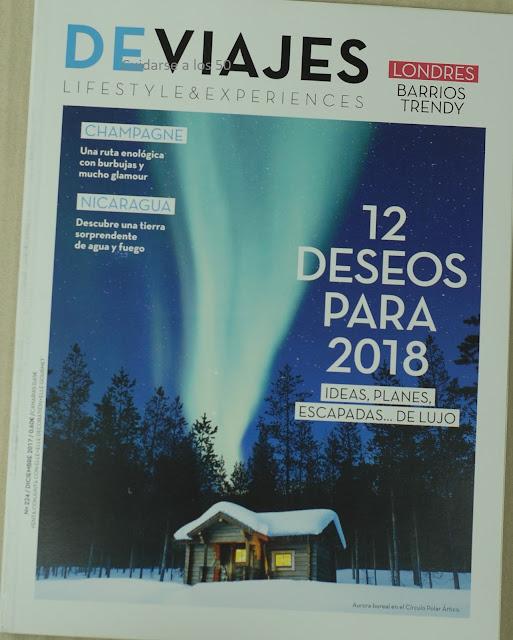 revista De viajes diciembre 2017