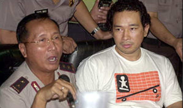 Tommy Soeharto ditangkap