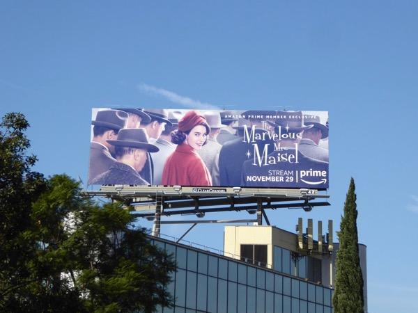 Marvelous Mrs Maisel billboard