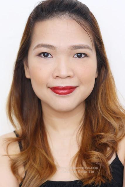 a photo of POP Beauty Matte Velvet Lipstix in Bewitching Beet