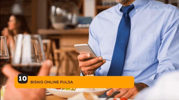 10. Bisnis Online Pulsa