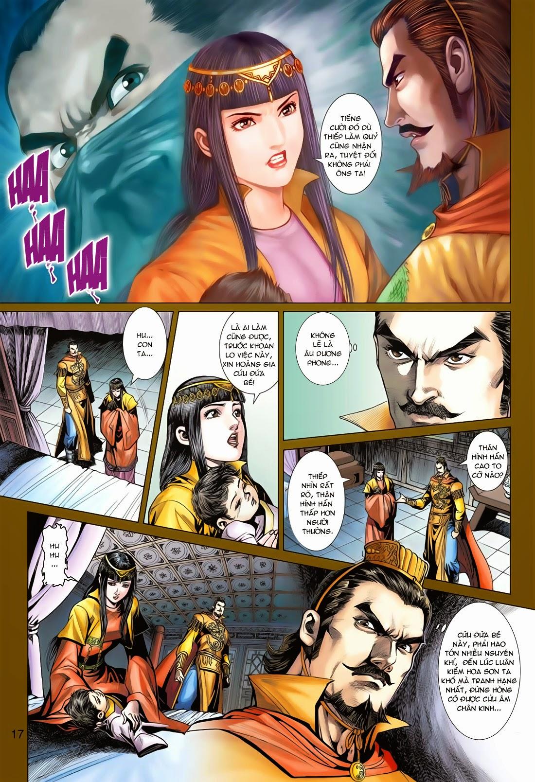 Anh Hùng Xạ Điêu anh hùng xạ đêu chap 78: sát anh trang 17