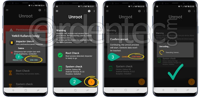 Unroot with Impactor Unroot