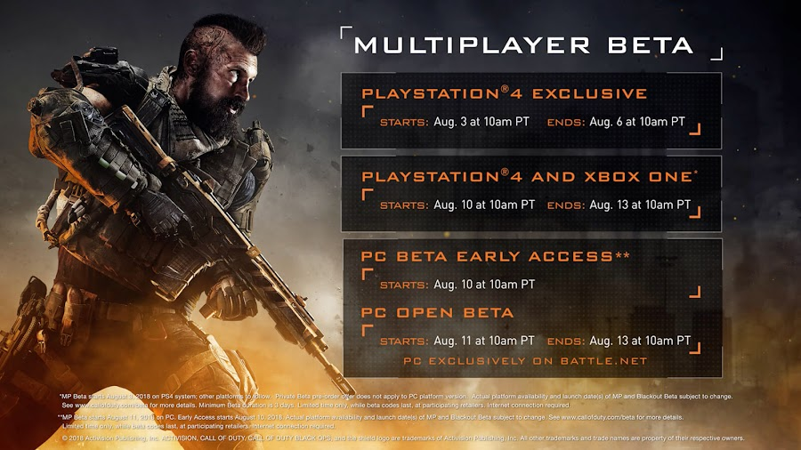 call of duty black ops 4 private multiplayer beta