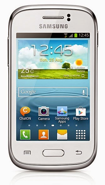 Cara Root Samsung Galaxy Young GT-S6310/GT-S6312
