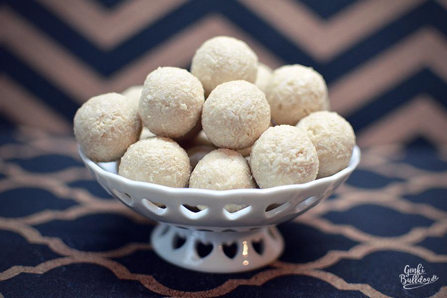Rezept Kokos-Sahne Trüffel für Hunde