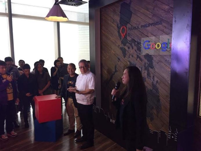 Google Philippines in BGC, Taguig lobby