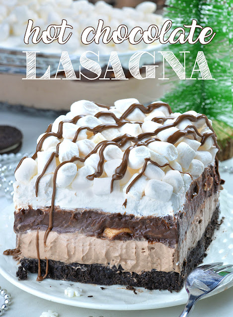 Hot Chocolate Lasagna