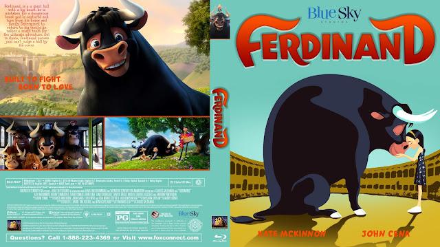 Ferdinand Bluray Cover