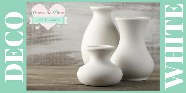 Ideas para decorar en blanco
