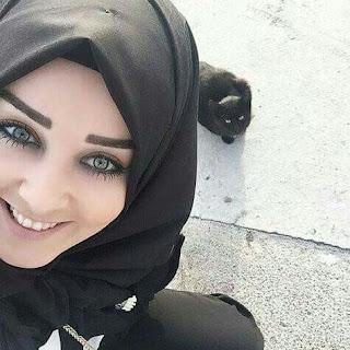 a2cb445549e5d اجمل صور بنات محجبات 2018 رمزيات بنات يرتدون الحجاب جميلة جدا