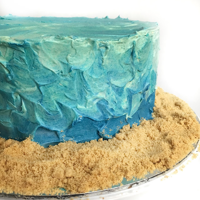 Cake Frosting Waves