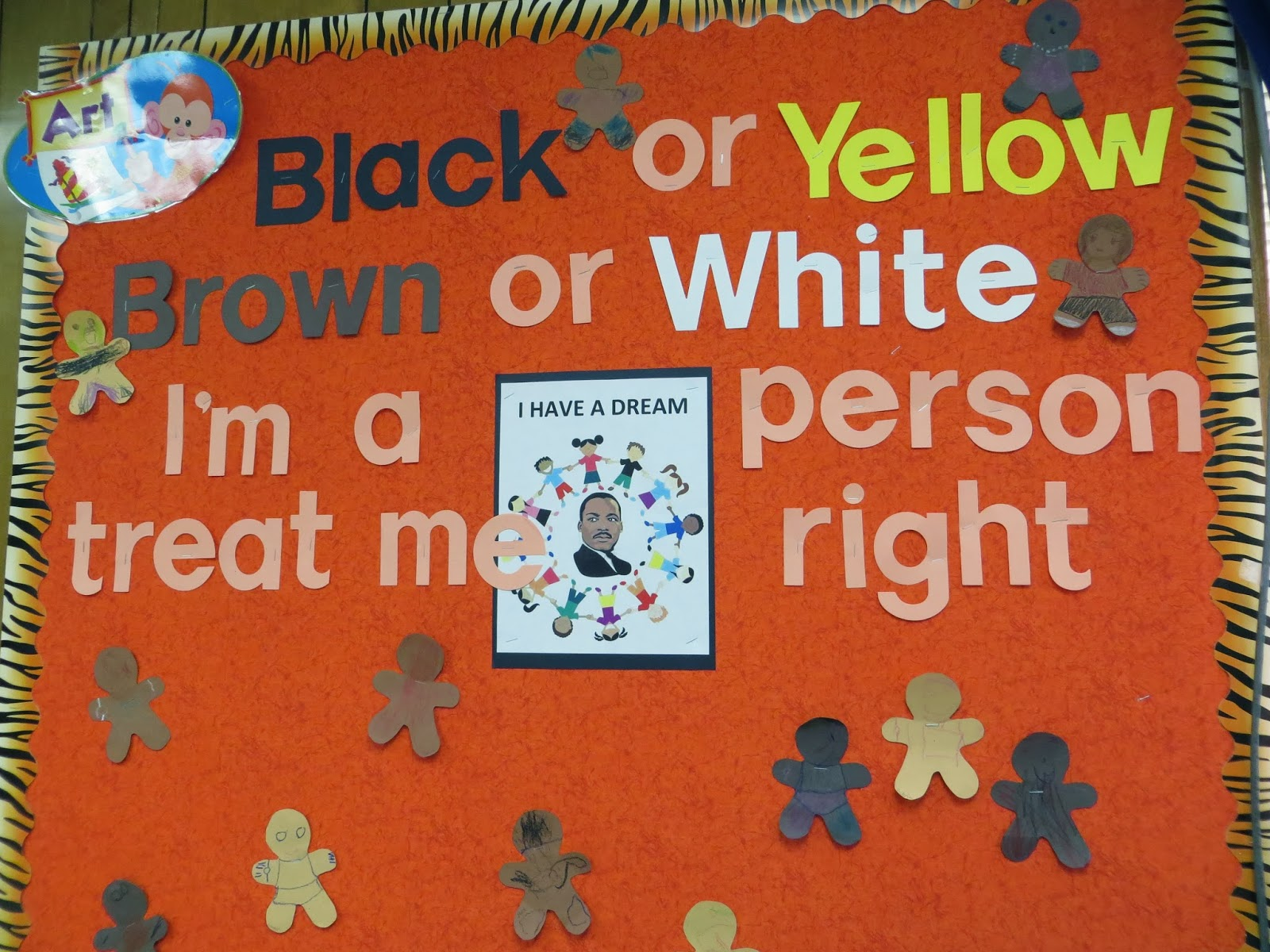 Preschool For Rookies Happy Birthday Martin Luther King Jr