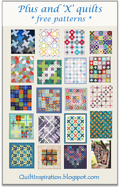 Quilt Inspiration Free Pattern Day Plus And Cross Quilts Enchanting Free Cross Quilt Patterns