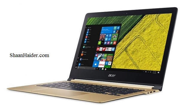Acer Swift 7 Notebook : Full Hardware Specs, Features and Price