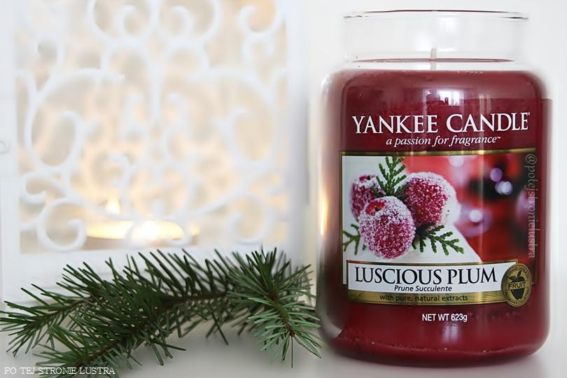 Yankee Candle Luscious Plum - święta pachnące śliwką