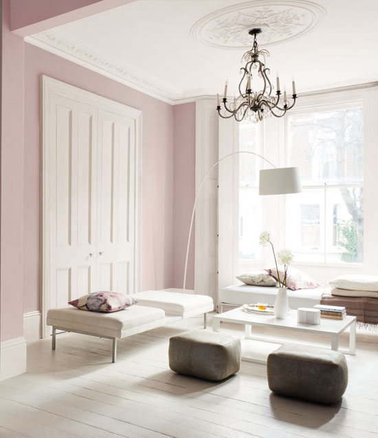 Painting Two Walls In A Room: T.D.C: Interior Trends