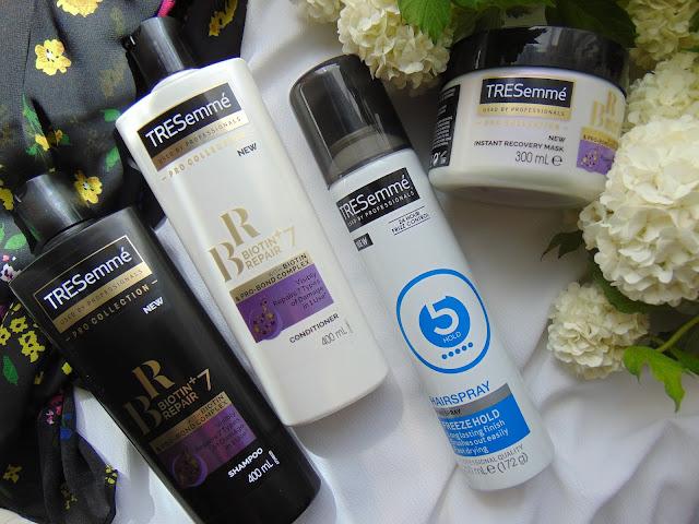 TRESemme Biotin Reapir+ Protect 7 - Nowa linia profesjonalnych kosmetyków do włosów
