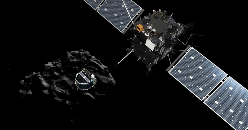 Adiós Philae: Sonda Rosetta cortó la comunicación con el robot espacial Philae