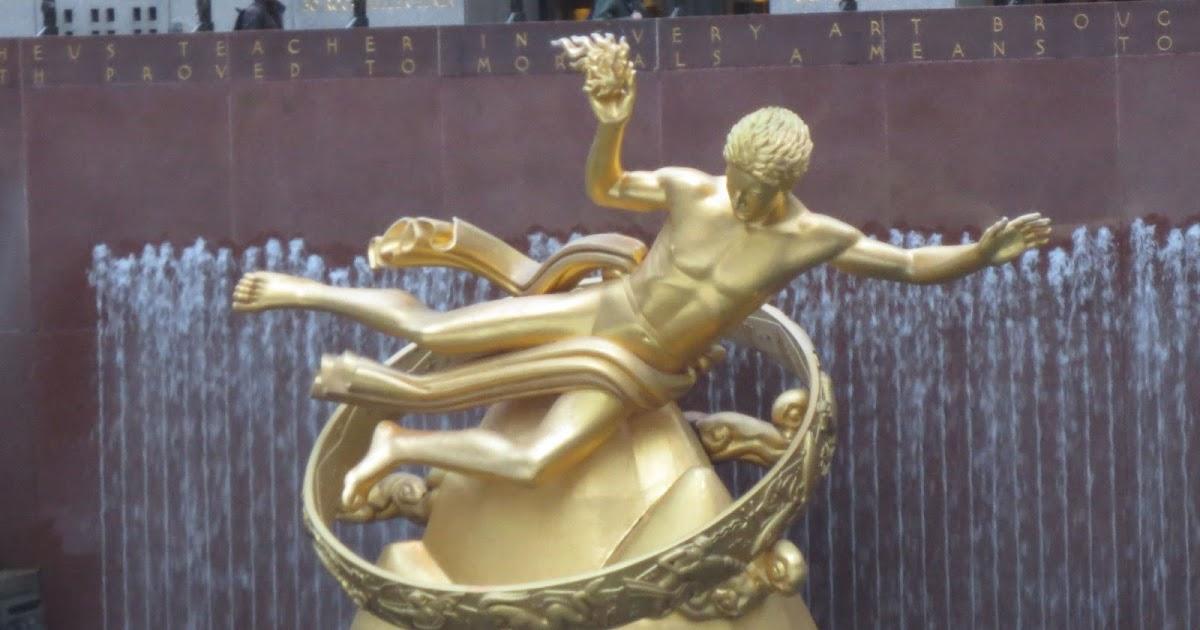 Center Statue Name Rockefeller