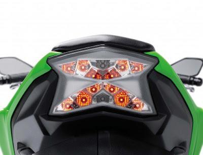 2017 Kawasaki Ninja 650 ABS Taillight